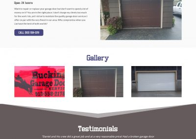 Bucking Garage Door Service